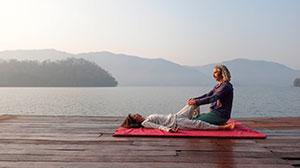 Thai yoga massage level 3- module advanced and stretchings
