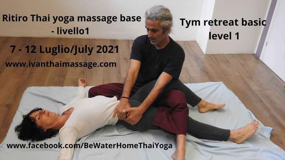 Ritiro di Thai yoga massage base livello 1